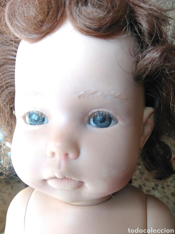 Muñecas Españolas Modernas: Muñeca Paula? Mariquita Pérez C.E pelirroja, castaña, ojos azules miel de abeja 1998 - Foto 2 - 101187567