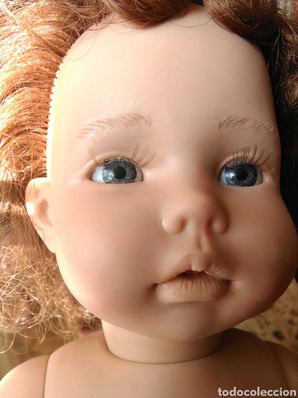 Muñecas Españolas Modernas: Muñeca Paula? Mariquita Pérez C.E pelirroja, castaña, ojos azules miel de abeja 1998 - Foto 4 - 101187567