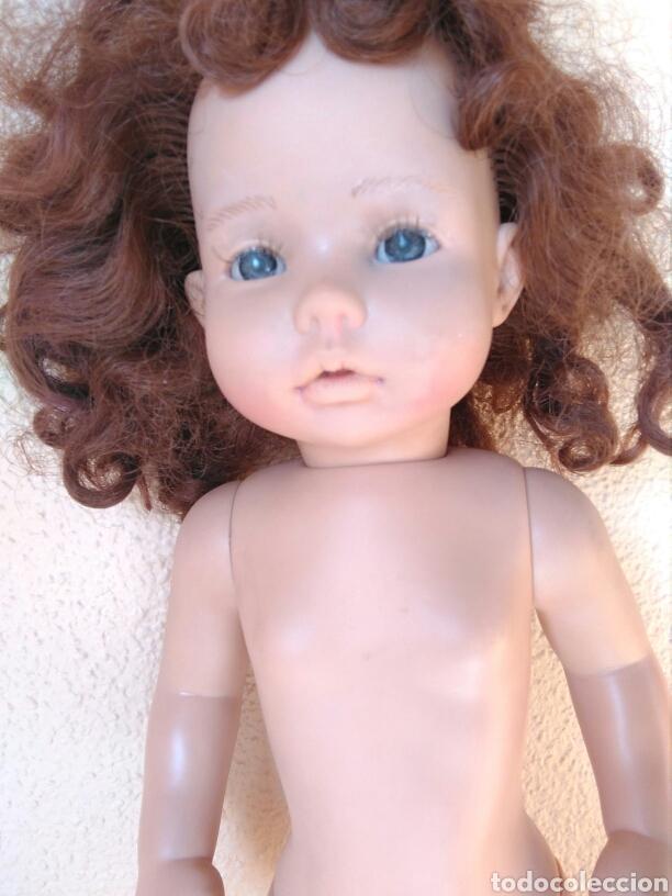 Muñecas Españolas Modernas: Muñeca Paula? Mariquita Pérez C.E pelirroja, castaña, ojos azules miel de abeja 1998 - Foto 10 - 101187567