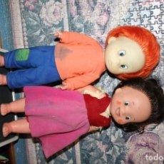 Muñecas Españolas Modernas: MUÑECO MUÑECA PEDRO Y HEIDI FAMOSA. Lote 101273695