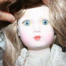Muñecas Españolas Modernas: ANTIGUA MUÑECA RAMON INGLES PORCELANA . Lote 101279267