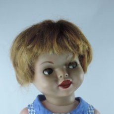Muñecas Españolas Modernas - Antigua muñeca GIOVANNA de Jesmar años 50, es de celuloide y pelo natural, ojos durmientes. Mide, 72 - 101846131