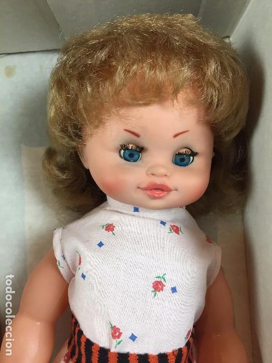 Muñecas Españolas Modernas: muñeca española caja ojos azules sin marca años 60 pantalon camiseta pelo rubio S XX 44 cm - Foto 3 - 102350175