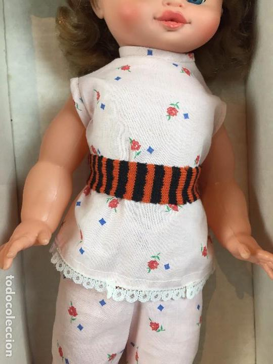 Muñecas Españolas Modernas: muñeca española caja ojos azules sin marca años 60 pantalon camiseta pelo rubio S XX 44 cm - Foto 4 - 102350175