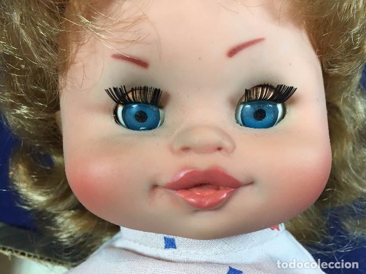 Muñecas Españolas Modernas: muñeca española caja ojos azules sin marca años 60 pantalon camiseta pelo rubio S XX 44 cm - Foto 8 - 102350175