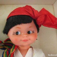 Muñecas Españolas Modernas: MUÑECA FALLERA VALENCIANA 30 CM. ALTURA CLARITA DE TOYSE NUEVA CON SU CAJA . Lote 103734571