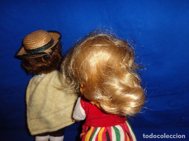 Muñecas Españolas Modernas: REGIONALES - PAREJA DE MUÑECAS REGIONALES SIN MARCA ALGUNA MIDEN UNOS 31 CM VER FOTOS! SM - Foto 8 - 104779155