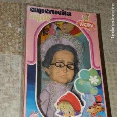 Muñecas Españolas Modernas: VICMA - MARIONETA DE CAPERUCITA ROJA - ABUELITA. Lote 179035573