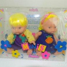 Muñecas Españolas Modernas: MINIS DE BERJUSA. MARCA: BERJUSA ORIGINAL AÑOS 80/90. NUEVO, A ESTRENAR!. Lote 109097791