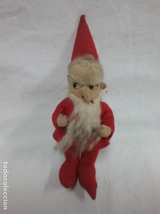 Fotos Simpaticas De Papa Noel.Antigua Muneco Muneca Papa Noel Duende Reali Sold