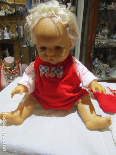 Muñecas Españolas Modernas: Muñeco bebé de Berjusa. Todo goma blanda. Articulado. 50 cms. altura. - Foto 2 - 111335271