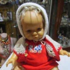 Muñecas Españolas Modernas: MUÑECO BEBÉ DE BERJUSA. TODO GOMA BLANDA. ARTICULADO. 50 CMS. ALTURA.. Lote 111335271