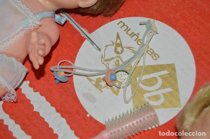 Muñecas Españolas Modernas: PLUMITA BB Y PLUMITO BB - EN CAJA ORIGINAL - MUÑECAS BB - MADE IN SPAIN - MIRA LAS FOTOS - VINTAGE - Foto 12 - 111585803