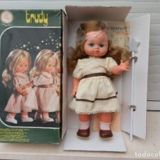 Muñecas Españolas Modernas: ANTIGUA MUÑECA TRUDY DE BERJUSA. MADE IN SPAIN. AÑOS 70.. Lote 112415311