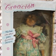 Muñecas Españolas Modernas: ANTIGUA MUÑECA BERJUSA CREACION NUEVA EN SU CAJA. Lote 112691391