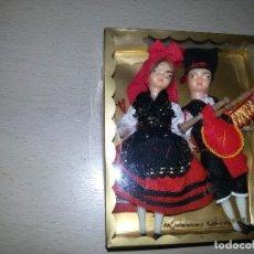 Muñecas Españolas Modernas: CURIOSAS MUÑECAS ARTESANAS. Lote 114224807
