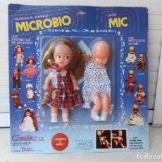 Muñecas Españolas Modernas: BLISTER MUÑECA MANIQUI MICROBIO+ BEBE MIC DE GOMYBER S. A. IBI ESPAÑA.. Lote 115233363