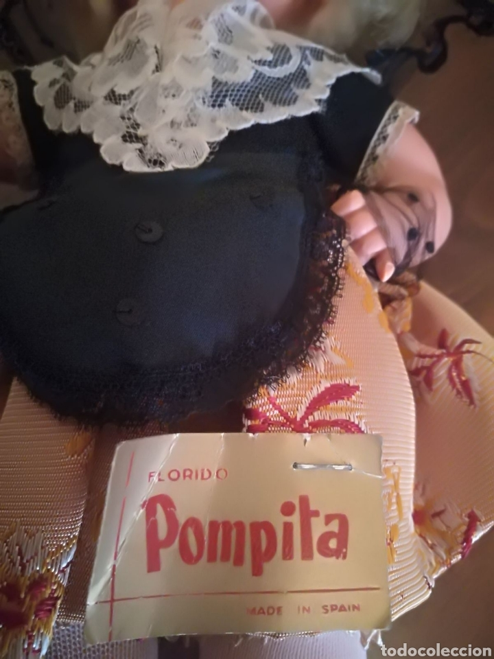 Muñecas Españolas Modernas: PRECIOSA MUÑECA POMPITA CATALANA años 60 - Foto 5 - 115397235
