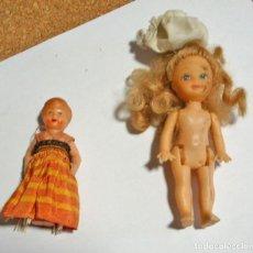 Muñecas Españolas Modernas: DOS MUÑECAS - ORIGINALES EN BUEN ESTADO - VER DESCRIPCIÓN Y FOTOS. Lote 115747099