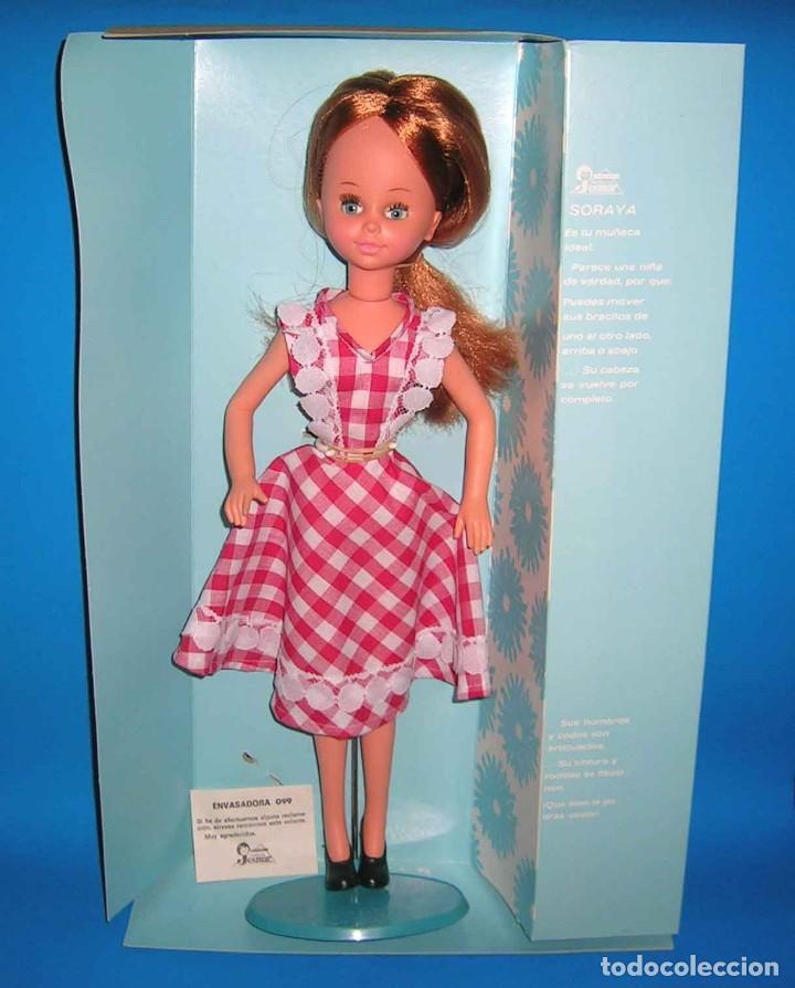 Muñecas Españolas Modernas: Muñeca Soraya fabricada por la casa Jesmar, original año 1975. A estrenar con su caja. - Foto 2 - 115975843
