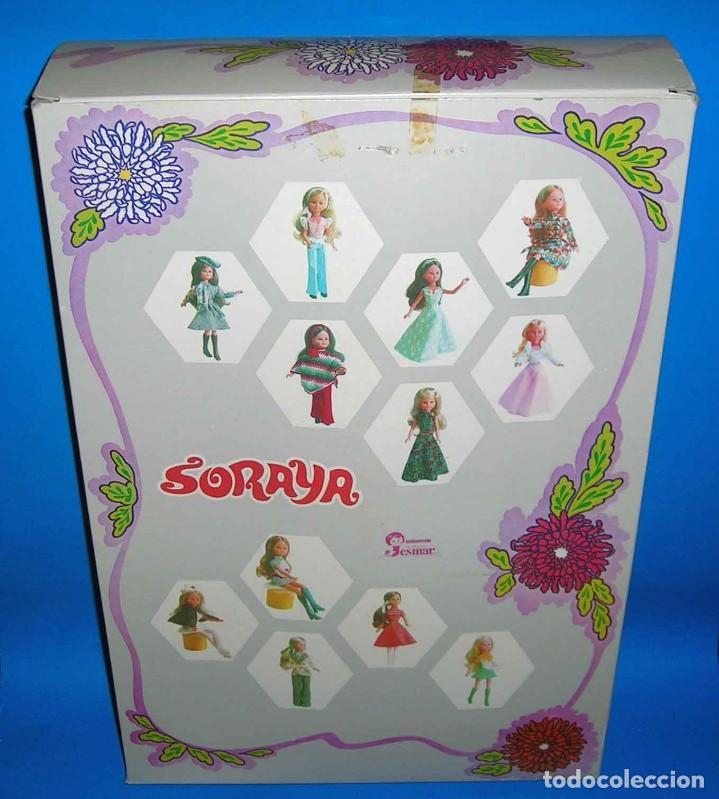 Muñecas Españolas Modernas: Muñeca Soraya fabricada por la casa Jesmar, original año 1975. A estrenar con su caja. - Foto 6 - 115975843
