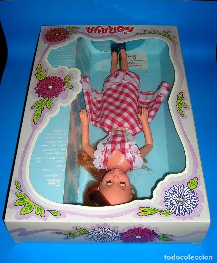 Muñecas Españolas Modernas: Muñeca Soraya fabricada por la casa Jesmar, original año 1975. A estrenar con su caja. - Foto 7 - 115975843