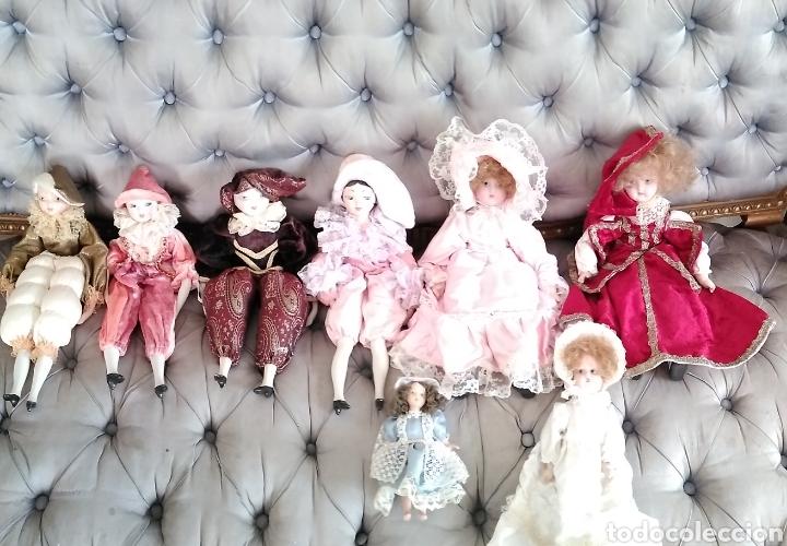 Muñecas Españolas Modernas: Lote de muñecas de porcelana años 70-80 - Foto 2 - 116858763