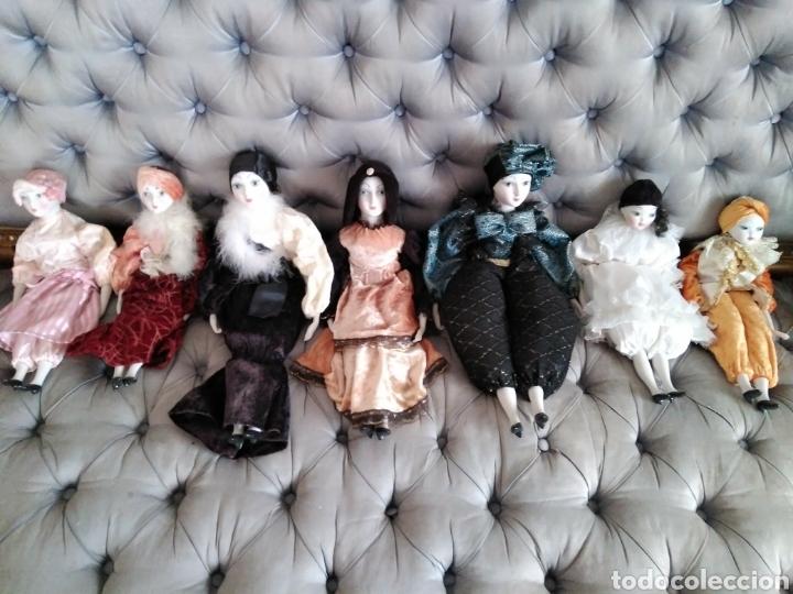 Muñecas Españolas Modernas: Lote de muñecas de porcelana años 70-80 - Foto 3 - 116858763