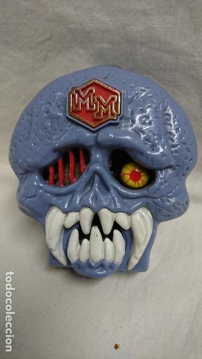 Muñecas Españolas Modernas: CARA DE LOS HORRORES CALAVERA MIGHTY MAX SKULL DUNGEON BLUEBIRD AÑO 1992 - Foto 4 - 117978431
