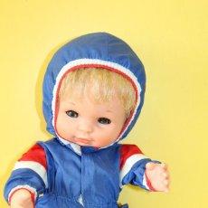 Muñecas Españolas Modernas: MUÑECO BABY MOCOSETE DE TOYSE MADE IN SPAIN - AÑOS 70. Lote 118981763