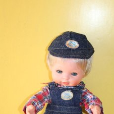 Muñecas Españolas Modernas: MUÑECO BABY MOCOSETE DE TOYSE MADE IN SPAIN - AÑOS 70. Lote 119079055