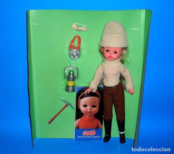 Moderne spanische Puppen: Muñeca Core rubia Alpinista de BB original años 70. A estrenar con su caja y catálogo. - Foto 2 - 122749510