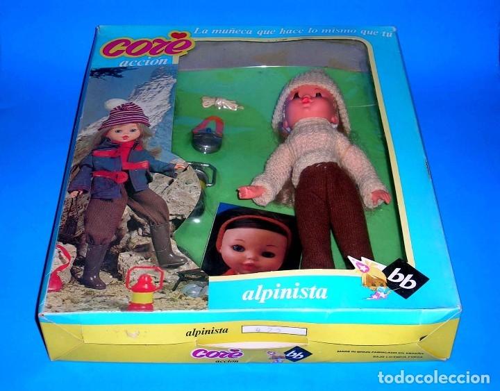 Moderne spanische Puppen: Muñeca Core rubia Alpinista de BB original años 70. A estrenar con su caja y catálogo. - Foto 5 - 122749510