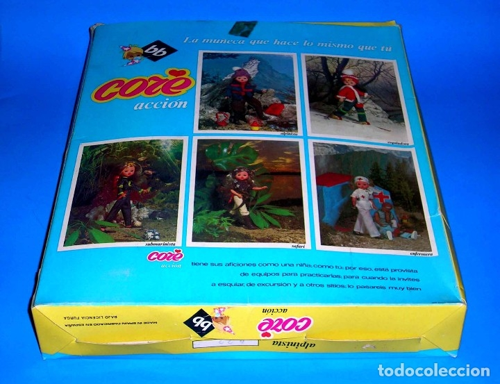 Moderne spanische Puppen: Muñeca Core rubia Alpinista de BB original años 70. A estrenar con su caja y catálogo. - Foto 6 - 122749510