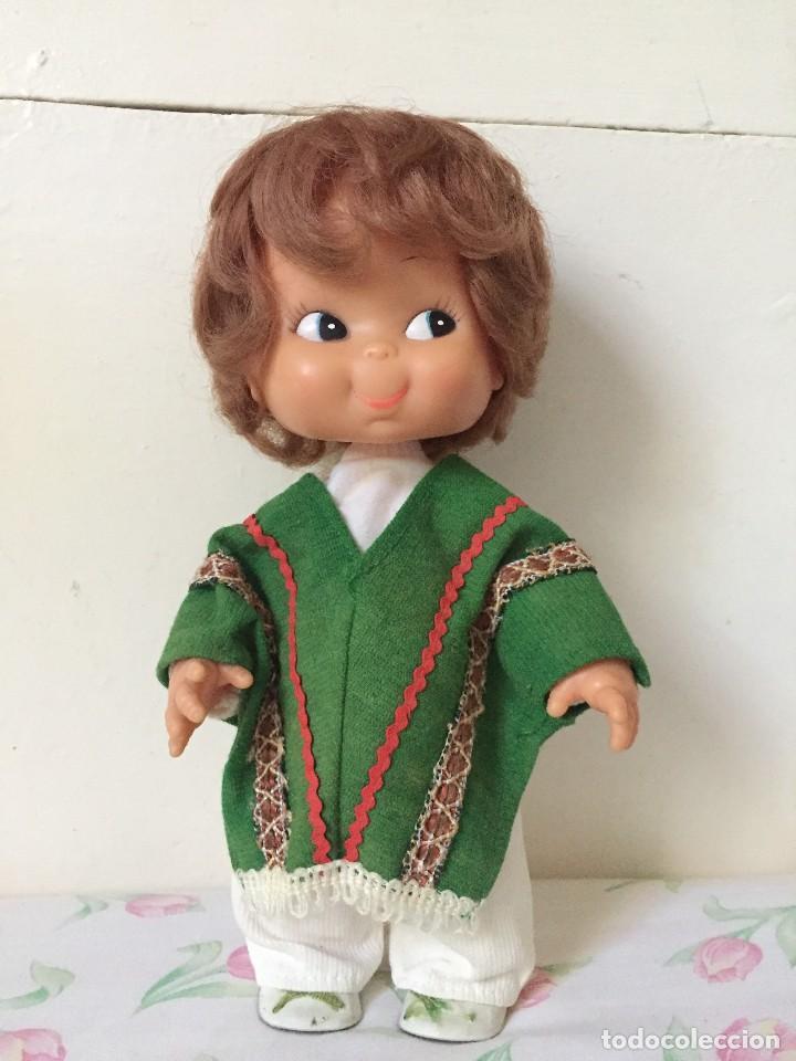 Gracioso Muñeco De Durpe Llamado Hippie Vestido De Mexicano Unico En Todocoleccion Años 70