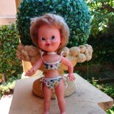 Muñecas Españolas Modernas: MUÑECA BRISITA DE FLORIDO DE LOS AÑOS 60 ORIGINAL CON ETIQUETA. Lote 126859571