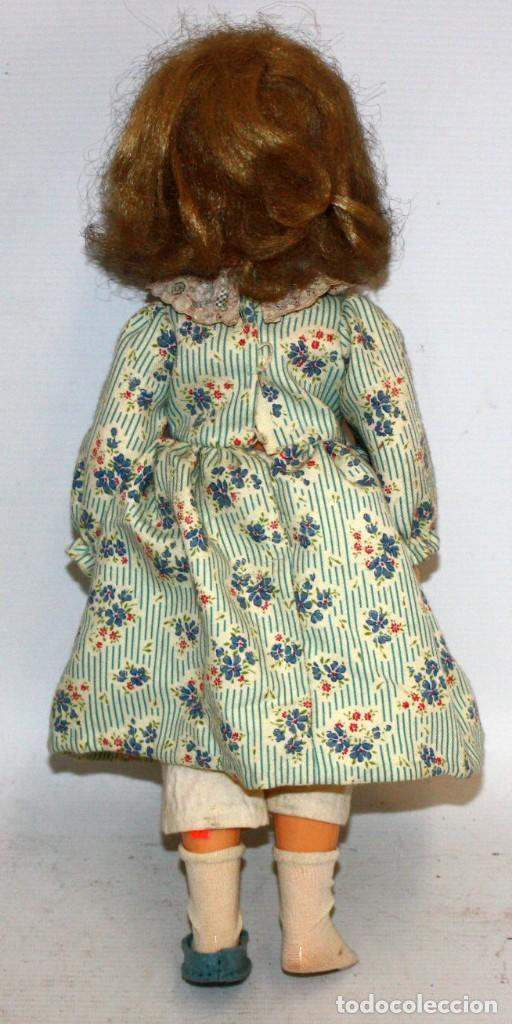 Muñecas Españolas Modernas: MUÑECA DE PLASTICO DE LOS AÑOS 60 - Foto 3 - 129987919