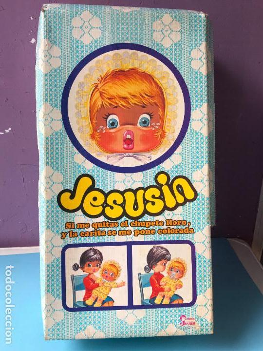Muñecas Españolas Modernas: MUÑECO JESUSIN DE JESMAR - AÑOS 1970 - NUEVA CON SU CAJA ORIGINAL - Foto 4 - 130426346