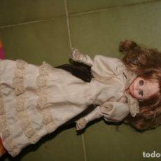 Muñecas Españolas Modernas: MUÑECO MUÑECA ANTIGUA TIPO LESLY ITALIA. Lote 130771120