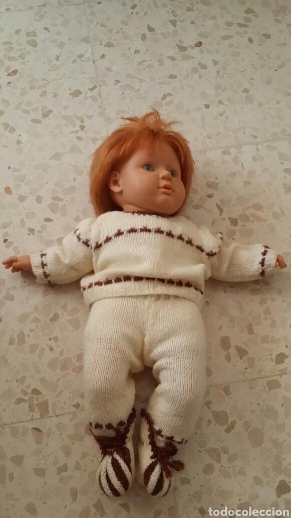 MUÑECO BABY FEBER GRANDE AÑO 1989 segunda mano