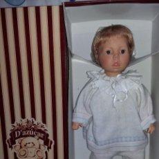 Muñecas Españolas Modernas: DIVINO MUÑECO MARCA ASI D'AZUCAR ONIL DE GRAN TAMAÑO NUEVO SIN USO FOTOS ABAJO CASI LOS 50 CM. Lote 142415533