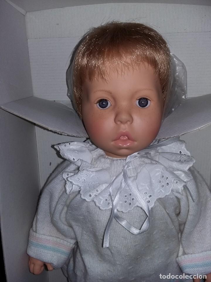 Muñecas Españolas Modernas: divino muñeco marca asi d'azucar onil de gran tamaño nuevo sin uso fotos abajo casi los 50 cm - Foto 2 - 142415533
