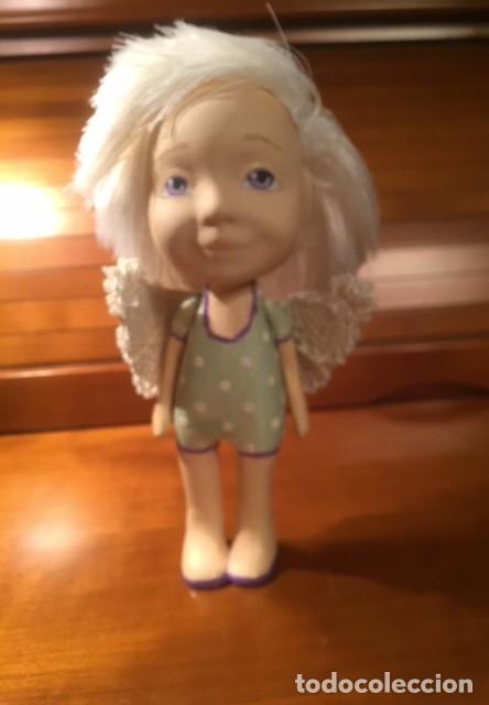 Muñecas Españolas Modernas: Preciosa artesanal angelito,es una muñeca de autor, única y bonita , moderna ,originaly angelical. - Foto 2 - 132939614