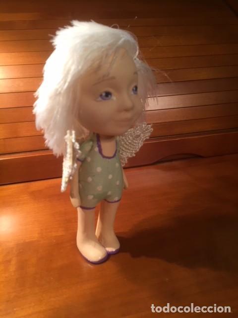 Muñecas Españolas Modernas: Preciosa artesanal angelito,es una muñeca de autor, única y bonita , moderna ,originaly angelical. - Foto 5 - 132939614