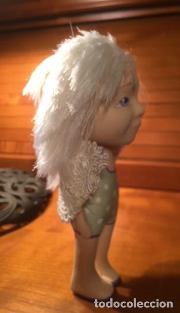 Muñecas Españolas Modernas: Preciosa artesanal angelito,es una muñeca de autor, única y bonita , moderna ,originaly angelical. - Foto 7 - 132939614
