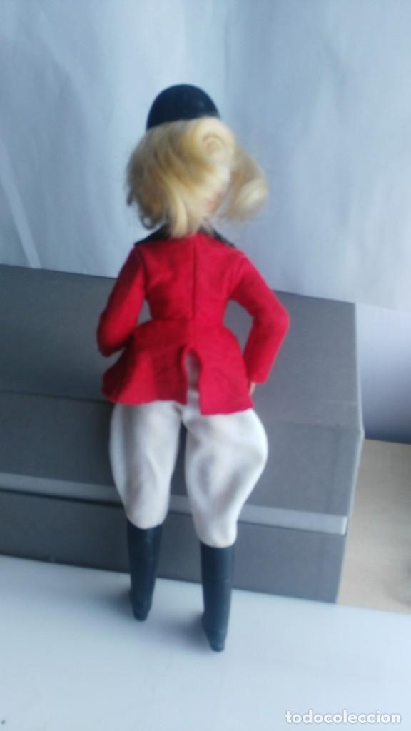Muñecas Españolas Modernas: ANTIGUA MUÑECA SINDY DE FLORIDO con numeracion en nnuca - Foto 4 - 133807658