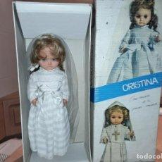 Muñecas Españolas Modernas: MUÑECA CRISTINA GAMA, MODELO COMUNIÓN ANTIGUA.. Lote 143283278