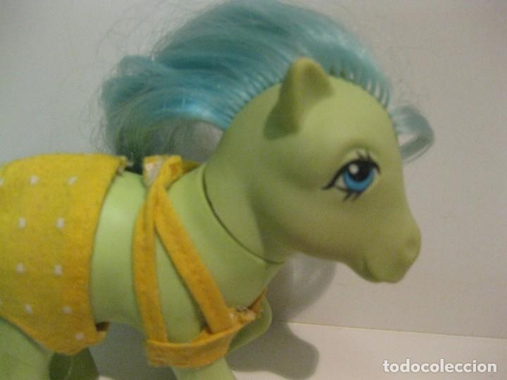 Muñecas Españolas Modernas: mi pequeño pony my little pony hasbro 1984 pat pend . chupa chups con vestido trave ropa - Foto 3 - 136311386