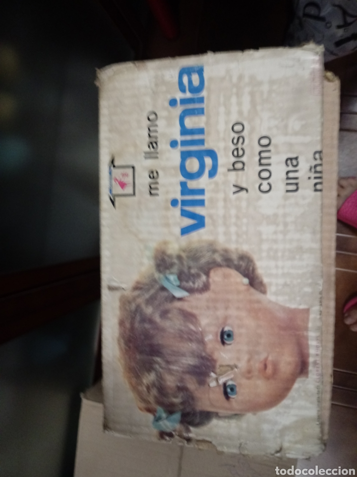 Muñecas Españolas Modernas: Caja vacia muñeca virginia novo gama - Foto 4 - 137342310