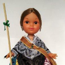 Muñecas Españolas Modernas: MUÑECA JOTITA 25 CM COLECCIÓN MODELO CASTELLONERA FOLK ARTESANÍA, NUEVA Y ORIGINAL. . Lote 137484226